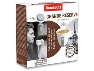 Rombouts koffiepods Grande Reserve 16st 123 Spresso systeem