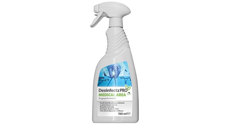 Desinfectz Pro Medical Area desinfectiespray 750ml