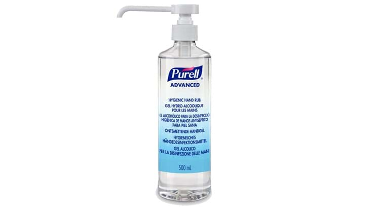 Purell Advanced ontsmettende handgel pompflacon  500ml