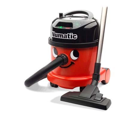 Numatic PPR 240 stofzuiger rood compleet