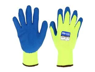 CaluGuard Thermo Viz Yellow mt. 9 (M) winter handschoen