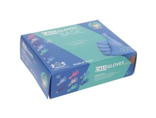 CaluGloves Medical Basic nitrile disposable   handschoenen multi color maat XL 200st