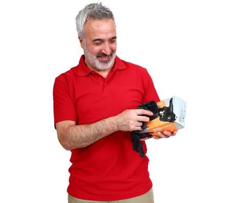Supergloves Black nitrile disposable handschoenen maat S 100 stuks