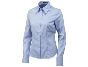 Tricorp dames blouse basic fit  blauw maat 32